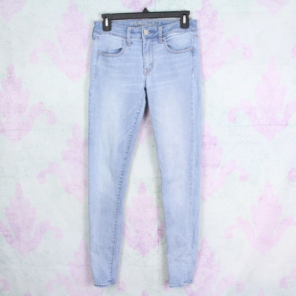 American Eagle Outfitters Denim - American Eagle 6 Long Super Stretch Jegging Skinny